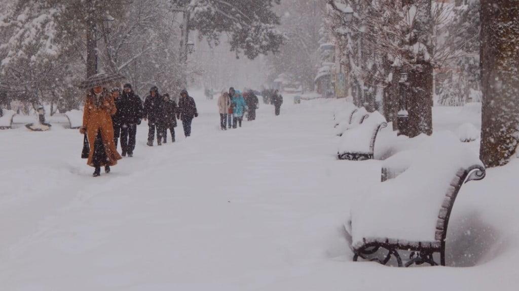 зима в Трускавці