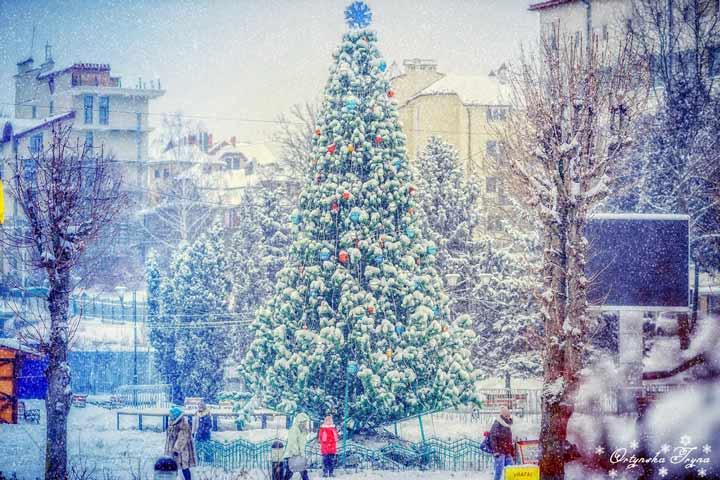погода в Трускавці взимку