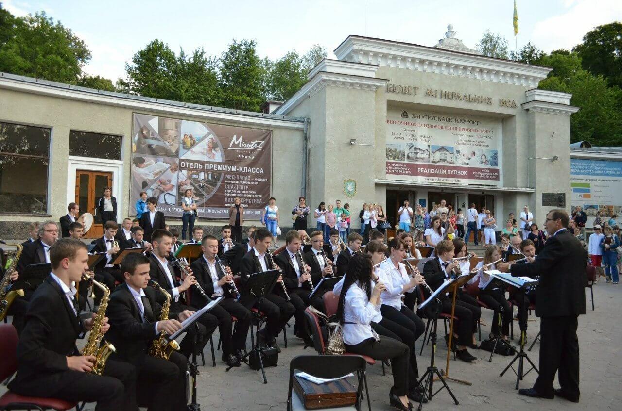 фестиваль оркестрів в Трускавці