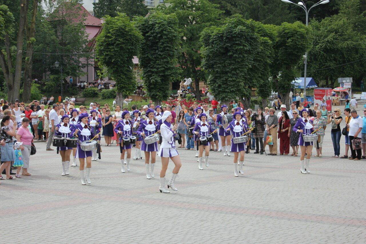 фестиваль мажореток трускавець