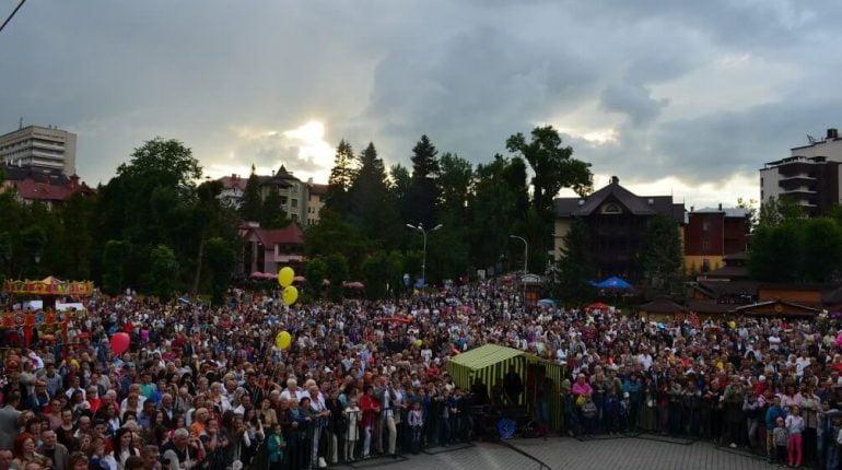 святковий концерт на день міста трускавець